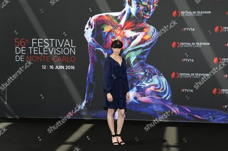 Us Actress Rena Sofer of Tv Series 'The Bold and the Beautiful' Poses During a Photocall at the 56th Monte Carlo Television Festival in Monaco 13 June 2016 the Festival Runs From 12 to 16 June Monaco Monaco