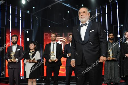 Us Director and President of the Jury Francis Coppola During the Award Ceremony of the 15th Marrakesh International Film Festival in Marrakesh Morocco 12 Decmber 2015 Morocco Marrakech