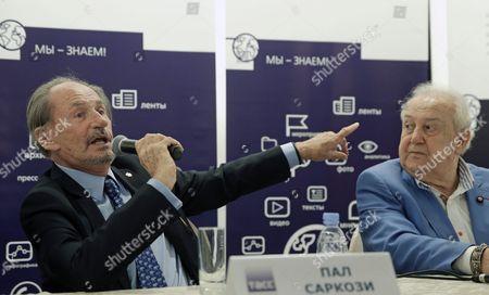 Editorial image of Russia Arts Sarkozy - Sep 2015