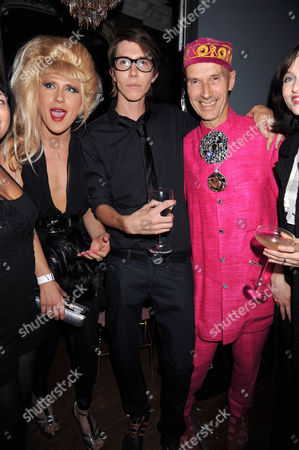 Jodie Harsh, Ben Charles Edwards and Andrew Logan