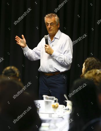 Ian Goldman Head Evaluation and Research at the Department of Performance Monitoring and Evaluation Speaks During a Breakfast Meeting in Celebration of the 2015 Year of Evaluation in Cape Town South Africa 18 September 2015 the Year 2015 is the International Year of Evaluation Or 'Evalyear' a Global Movement to Strengthen an Enabling Environment For Evaluation at Different Levels the Aim is to Strengthen the Demand For and Use of Evaluation to Inform Public Policies That Are Equity Focused and Gender Responsive the Meeting Brought Stakeholders From All Sectors Together For a Critical Engagement on How to Bring Evidence and Learning Into the Centre of Decision Making Evalyear 2015 was Launched in South Africa in March 2015 by Minister in the Presidency Jeff Radebe who Linked the Increased Use of Evidence in Government Decision Making to an Eradication of the Triple Challenges of Poverty Unemployment and Inequality the Meeting was Hosted by Southern Hemisphere a Socio-economic Development Consulting Company in Partnership with Monitoring and Evaluation Practitioners in the Western Cape (samea) and the Graduate School of Development Policy and Practice of the University of Cape Town South Africa Cape Town