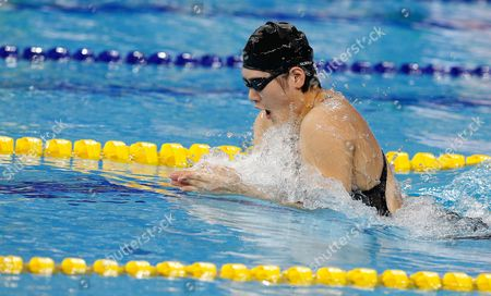 Ye Shiwen of China is on Her Way to Win the Gold Medal in the Women's 200m Individual Medley Final During the Swimming Competitions at the 17th Incheon Asian Games at the Munhak Aquatics Center in Incheon South Korea 26 September 2014 Korea, Republic of Incheon