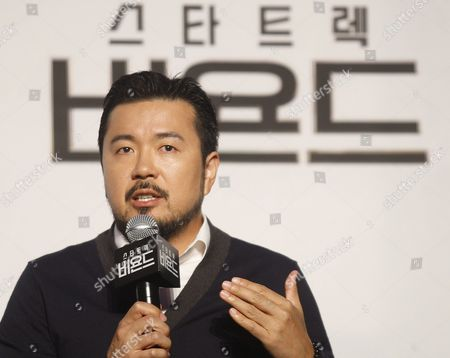 Taiwanese-born Us Director Justin Lin Speaks During a Press Conference at the Premiere of the Film 'Star Trek Beyond' at a Hotel in Seoul South Korea 16 August 2016 the Movie Will Open in South Korean Theaters on 18 August Korea, Republic of Seoul