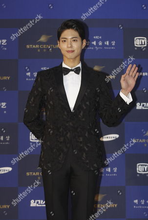 South Korean Actor Park Bo-gum Arrives For the 52th Annual Baeksang Art Awards at the Kyunghee University in Seoul South Korea 03 June 2016 Korea, Republic of Seoul