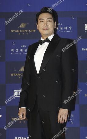 South Korean Actor Jo Jin-woong Arrives For the 52th Annual Baeksang Art Awards at the Kyunghee University in Seoul South Korea 03 June 2016 Korea, Republic of Seoul