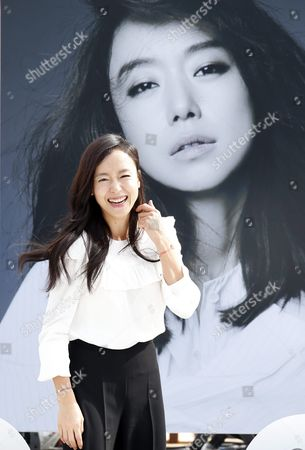 Stock Picture of South Korean Actress Jeon Do-youn Attends at Meet the Guest : Talk to Talk For Her Movie 'The Shameless' During the 20th Busan International Film Festival (biff) in the Southeastern Port City of Busan South Korea 04 October 2015 the Biff Runs From 01 to 10 October 2015 with 304 Titles From 75 Countries to Be Screened Korea, Republic of Busan