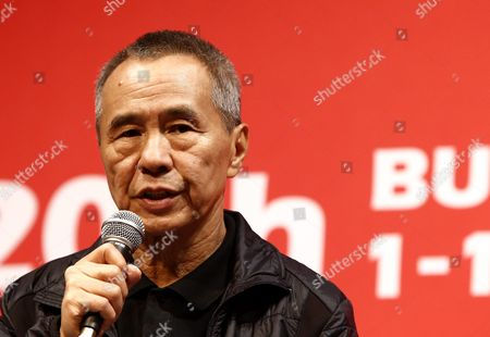 Taiwanese Director Hou Hsiao-hsien Attends the Press Conference For His Movie 'The Assassin' (nie Yin Niang) During the 20th Busan International Film Festival (biff) in the Southeastern Port City of Busan South Korea 02 October 2015 the Biff Runs From 01 to 10 October 2015 with 304 Titles From 75 Countries to Be Screened Korea, Republic of Busan