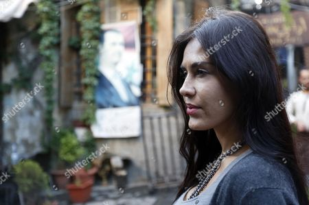 Bolivian Actress Carla Ortiz is Seen Touring the Old City of Damascus Syria 19 May 2016 Syrian Arab Republic Damascus