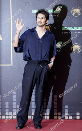 Singer Ken Hirai of Japan Arrives For the 27th Golden Melody Awards in Taipei Taiwan 25 June 2016 the 'Grammys' of the Chinese Music Industry Are Considered the Most Celebrated Music Awards in China Taiwan Taipei