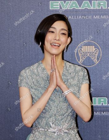 Stock Photo of Singer Christine Fan of Taiwan Arrives For the 27th Golden Melody Awards in Taipei Taiwan 25 June 2016 the 'Grammys' of the Chinese Music Industry Are Considered the Most Celebrated Music Awards in China Taiwan Taipei