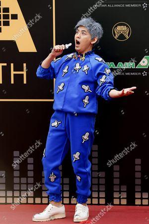 Editorial photo of Taiwan China Music Awards - Jun 2016