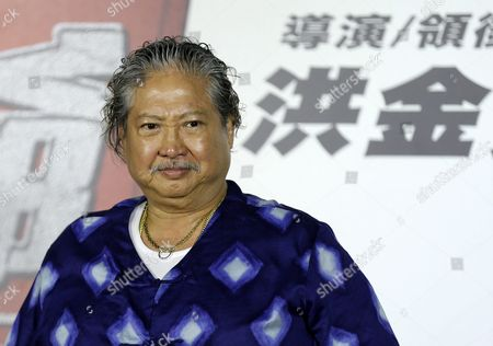 Hong Kong Actor and Film Producer Sammo Hung Looks on During a Press Conference in Taipei Taiwan 31 March 2016 Hung is in Taipei to Promote His New Movie 'The Bodyguard' Taiwan Taipei