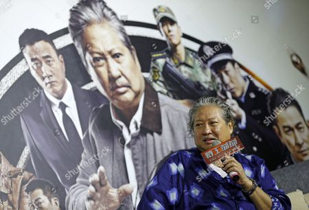 Hong Kong Actor and Film Producer Sammo Hung Speaks During a Press Conference in Taipei Taiwan 31 March 2016 Hung is in Taipei to Promote His New Movie 'The Bodyguard' Taiwan Taipei