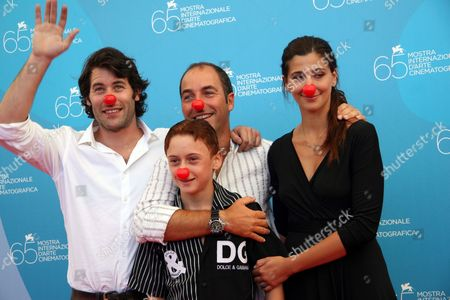 Director Marco Pontecorvo and the Cast