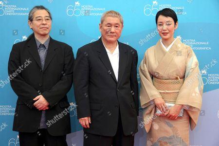 Masayuki Mori, the director Takeshi Kitano, Kanako Higuchi