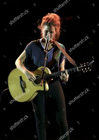 Belgian Singer Selah Sue Performs During the Jazz a Carthage Jazz Festival in Tunis Tunisia 08 April 2016 the Carthage Jazz Festival Launched in 2005 Draws Some of the Most Famous Names in Jazz From Around the World the Festival Funs From 8 to 16 April Tunisia Tunis