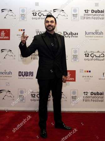 Egyptian Actor Mohamed Karim Arrives at the Opening Ceremony of the 12th Dubai International Film Festival (diff) 2015 in Gulf Emirate of Dubai United Arab Emirates 09 December 2015 the Diff Runs From 09 Until 16 December United Arab Emirates Dubai