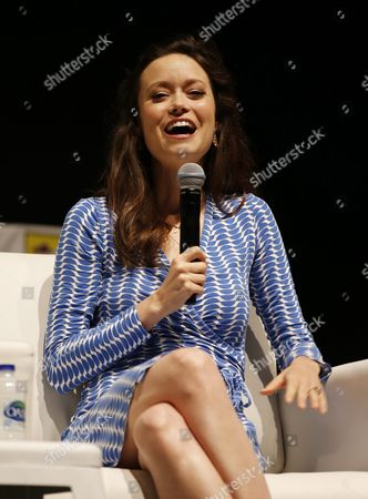 American Actress Summer Glau Attends a Press Conference As Part of Middle East Film & Comic Con (mefcc) in Gulf Emirate of Dubai United Arab Emirates on 08 April 2016 the Event Runs From 07 Until 09 April United Arab Emirates Dubai