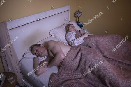Unforgotten (Series 2, Episode 6) - Rosie Cavaliero as Marion and Nigel Lindsay as Tony Kelsey.