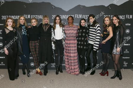Ashley Bell, Dianna Agron, Maddie Hasson, Chelsea Lopez, Liana Liberato, Margaret Betts, Eline Powell, Sarah Margaret Qualley, Morgan Saylor, Rebecca Dayan