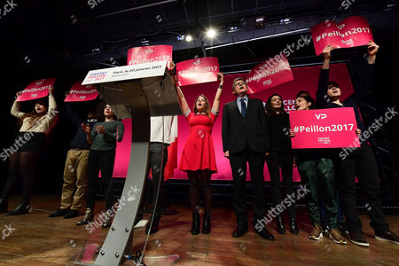 Editorial photo of French left-wing presidential primary, Paris, France - 20 Jan 2017