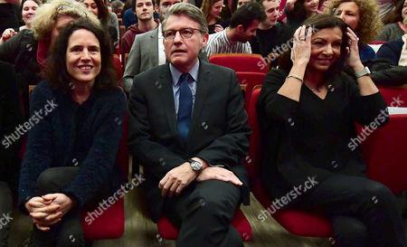 Vincent Peillon, Anne Hidalgo and Mazarine Pingeot