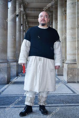Editorial image of Street Style, Autumn Winter 2017, Paris Fashion Week Men's, France - 20 Jan 2017