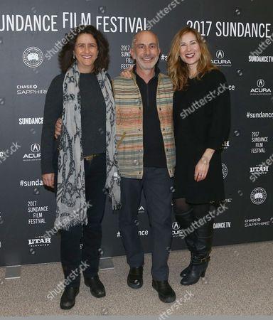 Gigi Pritzker, Russell Levine, Rachel Shane
