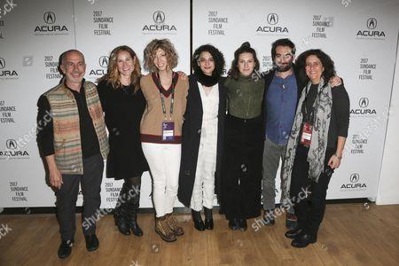 Russell Levine, Rachel Shane, Elisabeth Holm, Jenny Slate, Gillian Robespierre, Jay Duplass and Gigi Pritzker