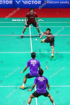 Editorial picture of Badminton Master, Sibu, Malaysia - 21 Jan 2017