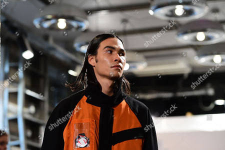 Editorial picture of Avoc - Runway - Paris Fashion Week Men Collections F/W 2017/18, France - 21 Jan 2017