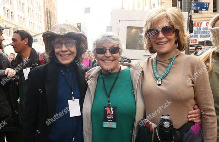 Stock Picture of Lily Tomlin, Helen Reddy, Jane Fonda