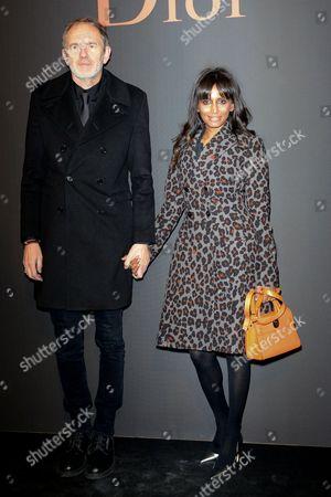 Editorial photo of Dior Homme show, Arrivals, Autumn Winter 2017, Paris Fashion Week Men's, France - 21 Jan 2017