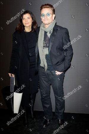 Stock Image of Bono, Ali Hewson