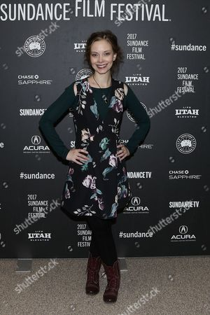 Editorial image of 'To the Bone' premiere, Sundance Film Festival, Park City, Utah, USA - 22 Jan 2017