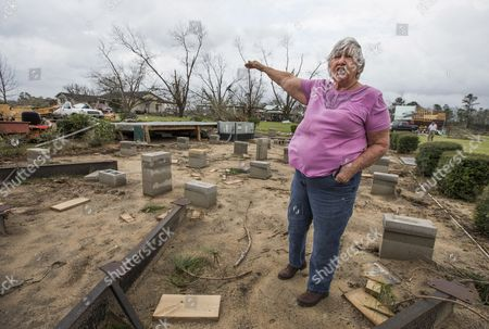 Editorial photo of Tornados in south Georgia, USA, Thomasville - 22 Jan 2017