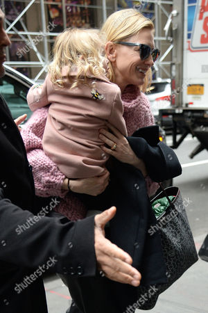 Editorial picture of Cate Blanchett out and about, New York, USA - 22 Jan 2017
