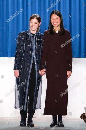 Stock Picture of Tutia Schaad and Johanna Perret