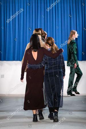 Editorial image of Perret Schaad show, Runway, Autumn Winter 2017, Mercedes-Benz Fashion Week, Berlin, Germany - 18 Jan 2017