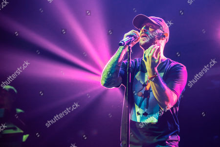Editorial image of John Bellion in concert at Barclays Center, New York, USA - 20 Jan 2017