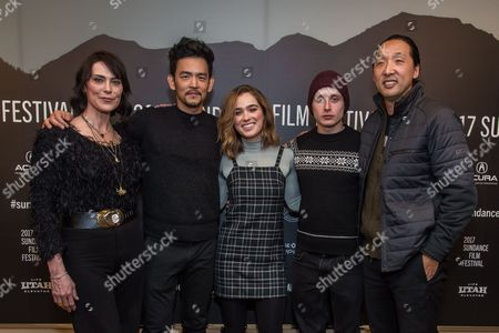 Michelle Forbes, John Cho, Haley Lu Richardson, Rory Culkin and Kogonada