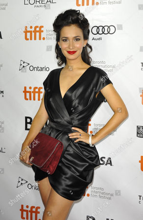 Hong Kong-born Actress Celina Jade Arrives As a Guest For the Screening of 'American Dreams in China' During the 38th Annual Toronto Film Festival in Toronto Canada 10 September 2013 the Festival Runs Until 15 September Canada Toronto
