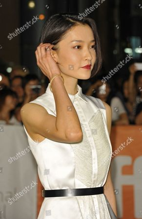 Chinese Actress and Cast Member Du Juan Arrives For the Screening of 'American Dreams in China' During the 38th Annual Toronto Film Festival in Toronto Canada 10 September 2013 the Festival Runs Until 15 September Canada Toronto