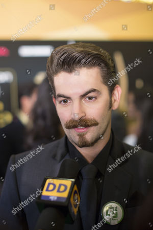 Indian Actor Neil Nitin Mukesh Talks to Members of the Media Upon His Arrival For the International Indian Film Academy Awards (iifa) in Macau China 05 July 2013 the 14th Edition of the Iifa Awards Commemorates 100 Years of Indian Cinema and Runs From 04 to 06 July China Macau
