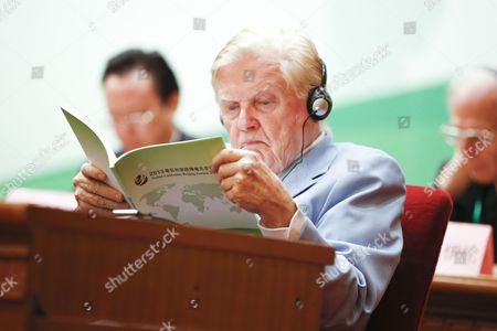 Editorial image of China Nobel Laureates Beijing Forum 2013 - Sep 2013