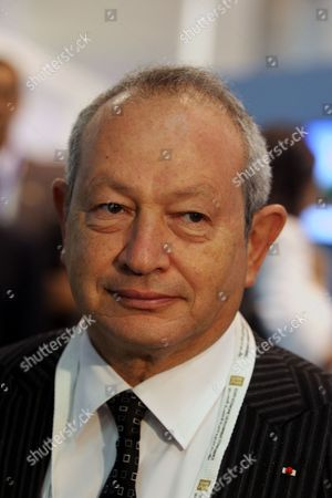 Egyptian Businessman Naguib Sawiris Leaves After the Opening Session of the Economic Development Conference (eedc) in the Red Sea Resort of Sharm El-sheikh Egypt 13 March 2015 Egyptian President Abdel Fattah Al-sisi Will on 13 March Open the Egypt Economic Development Conference in the Resort Town of Sharm Al-sheikh in the Presence of Global Business Executives and Government Officials Egypt's Economy Has Been Wracked by Four Years of Unrest Since the 2011 Revolt That Deposed Longtime President Hosni Mubarak Egypt Sharm Elsheikh