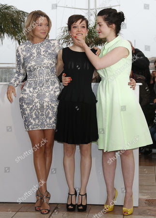 (l-r) French Actress Lea Seydoux French Actress Camille Lellouche and French Director Rebecca Zlotowski Pose During the Photocall For 'Grand Central' at the 66th Annual Cannes Film Festival in Cannes France 18 May 2013 the Movie is Presented in the 'Un Certain Regard' Section of the Festival Which Runs From 15 to 26 May France Cannes