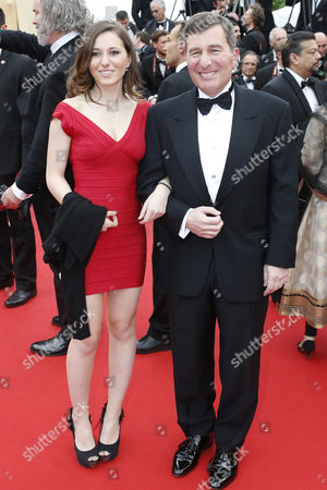 Us Ambassador to France Charles H Rivkin (r) and His Daughter Lily (l) Arrive For the Screening of 'Jeune & Jolie' (young & Beautiful) During the 66th Annual Cannes Film Festival in Cannes France 16 May 2013 the Movie is Presented in the Official Competition of the Festival Which Runs From 15 to 26 May France Cannes