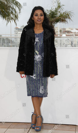 Indian Actress Tannishtha Chatterjee Poses During the Photocall For 'Monsoon Shootout' at the 66th Annual Cannes Film Festival in Cannes France 18 May 2013 the Movie is Presented out of Competition at the Festival Which Runs From 15 to 26 May France Cannes