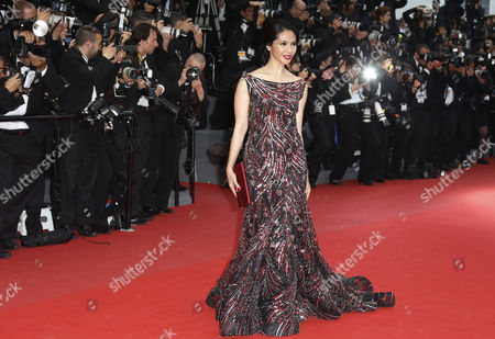 Stock Picture of Indonesian Actress Maudy Koesnadi Arrives For the Screening of 'Inside Llewyn Davis' During the 66th Annual Cannes Film Festival in Cannes France 19 May 2013 the Movie is Presented in the Official Competition of the Festival Which Runs From 15 to 26 May France Cannes